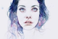 Such an expressive piece :D Love it!  miss universe by agnes-cecile.deviantart.com on @deviantART