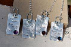 To Thine Own Self Be True. Shakespeare by KittyStoykovich on Etsy, $62.00