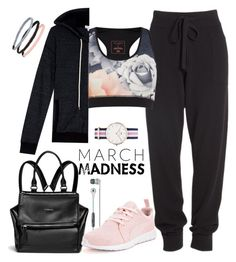 """""""March Madness: High Tops"""" by yinggao ❤ liked on Polyvore featuring Givenchy, Donna Karan, Skullcandy, Ted Baker, Splendid, Puma, Accessorize, Daniel Wellington, sporty and hightops"""