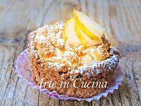 Soufflè di pere con guscio di frolla al cioccolato | Arte in Cucina