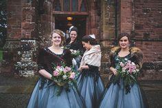 Ronald Joyce & Pretty Illustrations For An Elegant 40s and 50′s Vintage Winter Wedding | Love My Dress® UK Wedding Blog