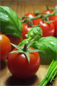 küchenfrische Tomaten