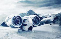 ANDREI SAMARDAC  |  sci fi ship goodness
