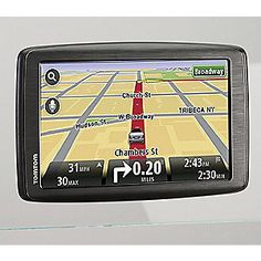 """Tom Tom 6"""" Via Touchscreen GPS from Home at Five® 