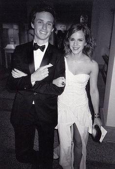 Emma Watson and Eddie Redmayne at the 2010 Met Gala. cuties