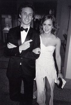 Emma Watson and Eddie Redmayne at the 2010 Met Gala. cuties                                                                                                                                                                                 More
