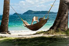 HAMMOCK: by the sea