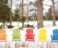 Door County, Wisconsin: A colorful winter view.