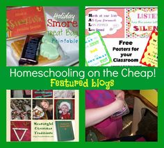 Link up--Homeschooling on the Cheap December 13, 2012