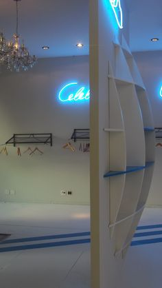 Showroom Adidas para GFN. Detalhes