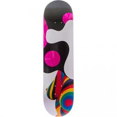 Quasi Skateboards Quasi Double Rainbow [One] Deck Pink 8x32.125
