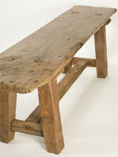 Antique Rustic Taverna Table