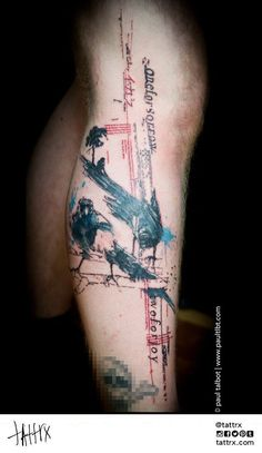 """Paul Talbot Tattoo 