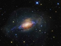 NGC 3521 - Galaxy in a Bubble: Gorgeous spiral galaxy NGC 3521 is a mere 35 million light-years away, toward the constellation Leo. Relatively bright in planet Earth's sky, NGC 3521 is easily visible in small telescopes but often overlooked by amateur imagers in favor of other Leo spiral galaxies, like M66 & M65.