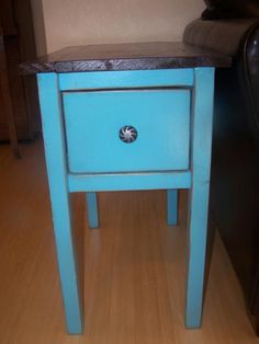 Narrow cottage end tables | Do It Yourself Home Projects from Ana White