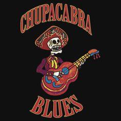 Chupacabra Blues Colour | Unisex T-Shirt