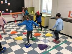 Active Sensory Spaces - Action for Healthy Kids Pe Ideas, Healthy Kids, Activities For Kids, Kids Rugs, Hallways, Classroom Ideas, Environment, Action, Spaces