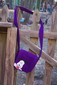 Happy Snoopy Bag by StayingInStitches on Etsy