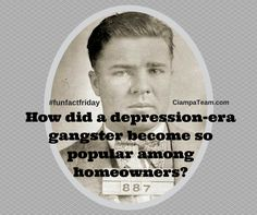"Charles ""Pretty Boy"" Floyd was a depression-era gangster who was involved in many violent bank robberies, often armed with a machine gun. So how did this man become viewed in a positive light by the..."