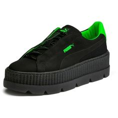 Fenty Puma x Rihanna Womens Cleated Creeper Surf Sneakers ( 150) ❤ liked on Polyvore  featuring shoes f392d90fc