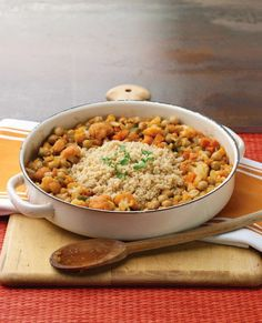 Chickpea Veggie Tagine and Amazon Kindle Deals! - Quarto Cooks