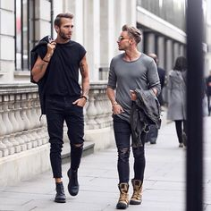 Street style men/winter