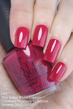 OPI - This is Not Whine Country http://scarlettavery.com/