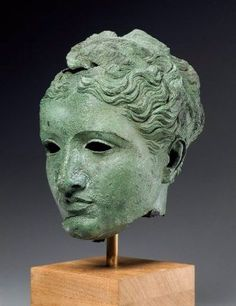 Head of a goddess or queen  Greek, Ptolemaic, Hellenistic Period, about 300–270B.C.