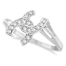 Buy Regal Baguette CZ Statement Band Ring by Vista Shops on OpenSky