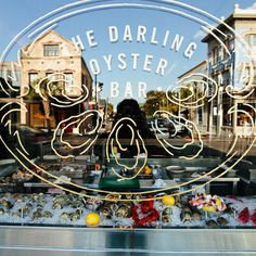 Tasty window shopping at The Darling Oyster Bar, Charleston