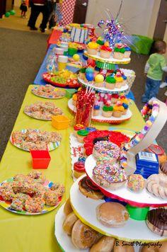 Sesame street birthday party ideas 2nd birthday columns and polka