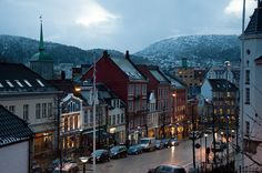 Just a street in Bergen... by ~ Marjolein ~, via Flickr