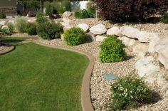 rock garden edging