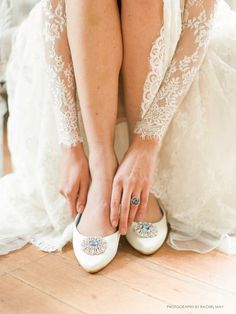 bella belle bridal shoes 2016 jackie wedding flats something blue stone -- Bella Belle 2016 Wedding Shoes Wedding Shoes Online, Beach Wedding Shoes, Wedding Flats, Belle Bridal, Bridal Style, Types Of Gowns, Bridal Flats, Traditional Gowns, Bridal Skirts