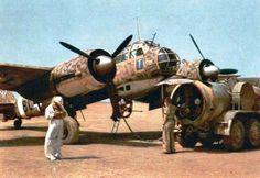 Ju 88 Flugbereitschaft Luftflotte 2, BL+ND