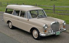 Learn more about No Reserve: 1964 Mercedes Benz Fintail Wagon on Bring a Trailer, the home of the best vintage and classic cars online. Daimler Ag, Daimler Benz, Vans, Shooting Break, Mercedes Benz Maybach, Automobile, M Benz, Wagon Cars, Mercedez Benz