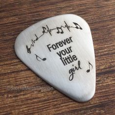 Forever Your Little Girl Guitar Pick