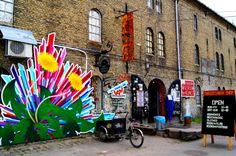 Christiania in Cobenhagen, Denmark