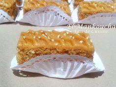 Asalam alykom, bonjour, voici un gâteau très beau et très bon, facile à réaliser, il ressemble à la baklawa mais qu'avec 2 couches, arrosée ...
