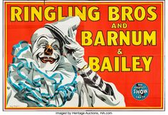 "Movie Posters:Miscellaneous, Circus Poster (Ringling Bros. and Barnum & Bailey, 1945). EightSheet (79.5"" X 117.5""). Miscellaneous.. ..."