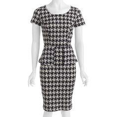 $19.98 Walmart online. Alexis Taylor Women's Plus-Size Curvy Knit Peplum Dress