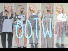▶ OOTW MAY 2014 | Maddi Bragg - YouTube These outfits are on point