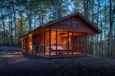 This May Look Like A Normal Cabin On The Woods, Until You See What Else It Does. GENIUS!