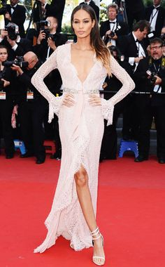 Joan Smalls in Emilio Pucci