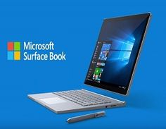 MICROSOFT LAUNCHES ITS FIRST EVER LAPTOP – SURFACE BOOK