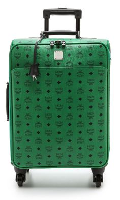 This MCM suitcase has me itching for a weekend getaway. #MakeTheOutfit