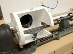 Lathe Cabinet and Dust Collection