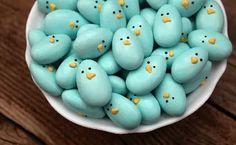 Jordan almond Easter bluebirds