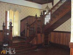 1900 Queen Anne staircase
