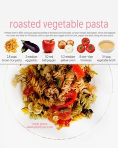 Whats your favourite food in the world? Mine is pasta. Veggie Recipes, Whole Food Recipes, Vegetarian Recipes, Cooking Recipes, Healthy Recipes, Vegan Foods, Vegan Dishes, Roasted Vegetable Pasta, Healthy Snacks